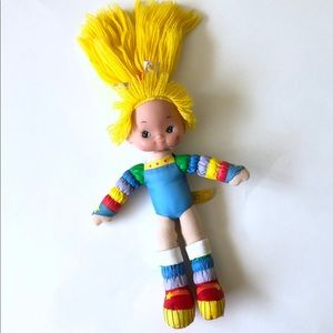 Other - Vintage Rainbow Brite Bendable Doll